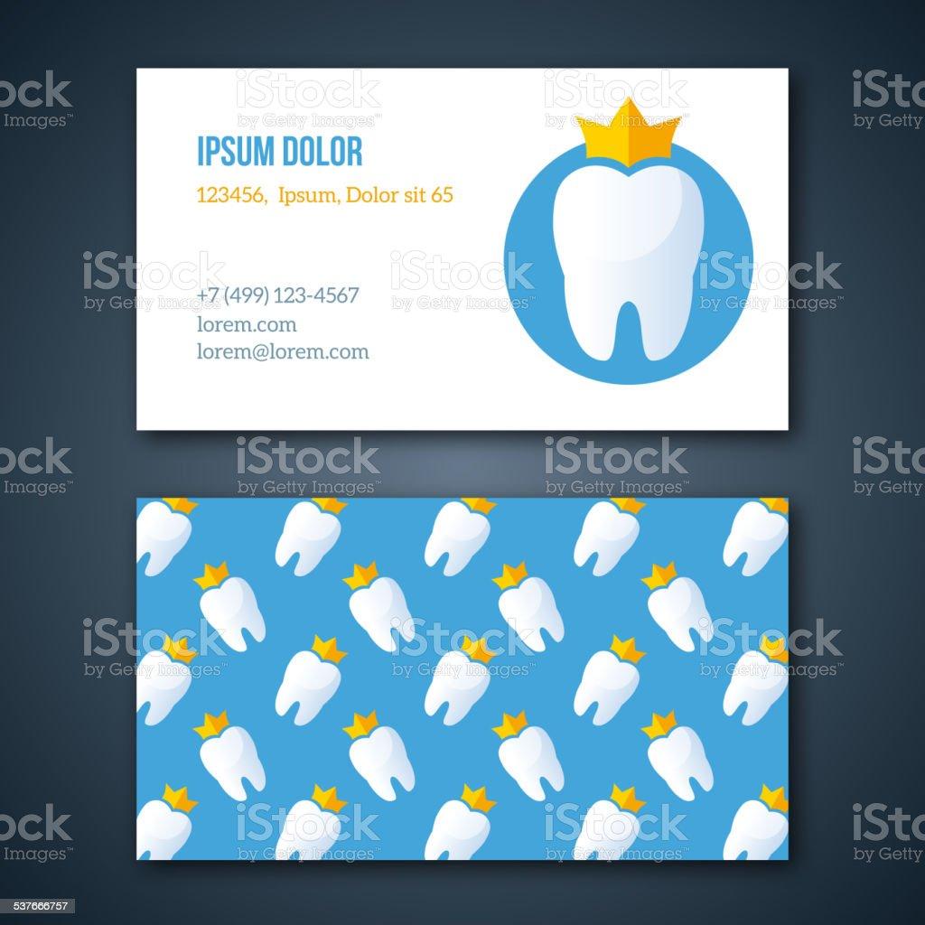 Dental Clinic Corporate Identity Template. vector art illustration