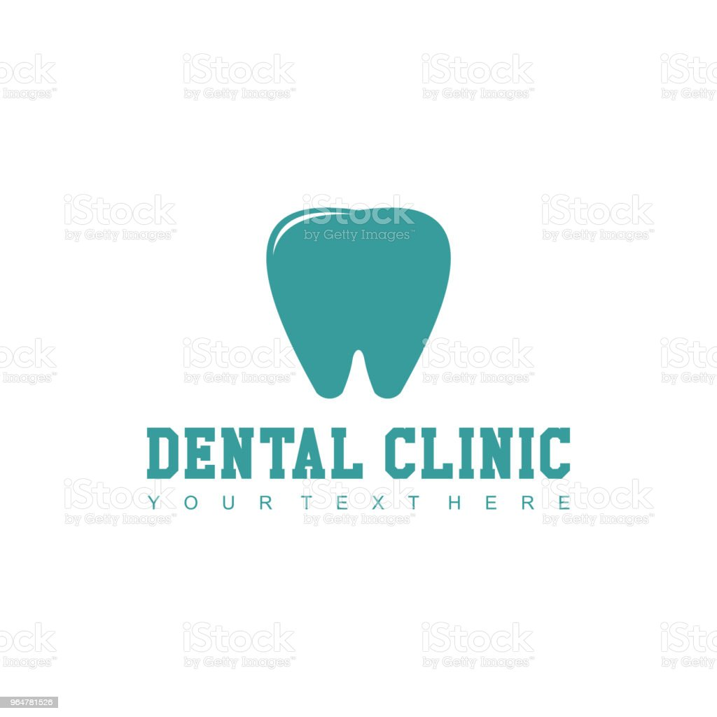 Dental Clinic Logo Vector Template Design royalty-free dental clinic logo vector template design stock vector art & more images of abstract