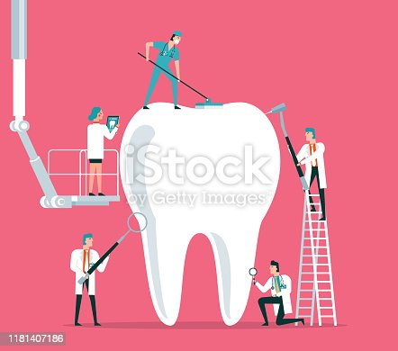 Dental clinic stock illustration