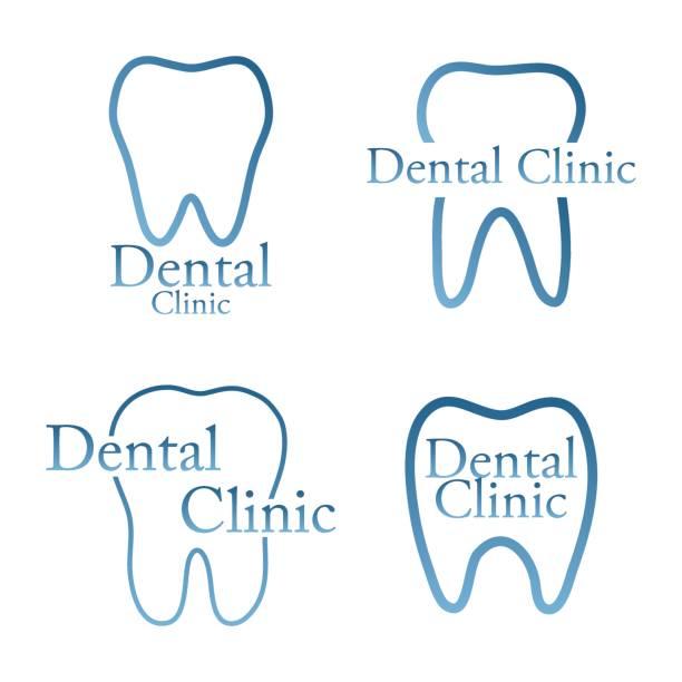 歯科医院 - 歯医者のロゴ点のイラスト素材/クリップアート素材/マンガ素材/アイコン素材