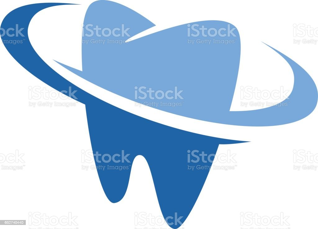 Dental Dentist Symbol vector art illustration
