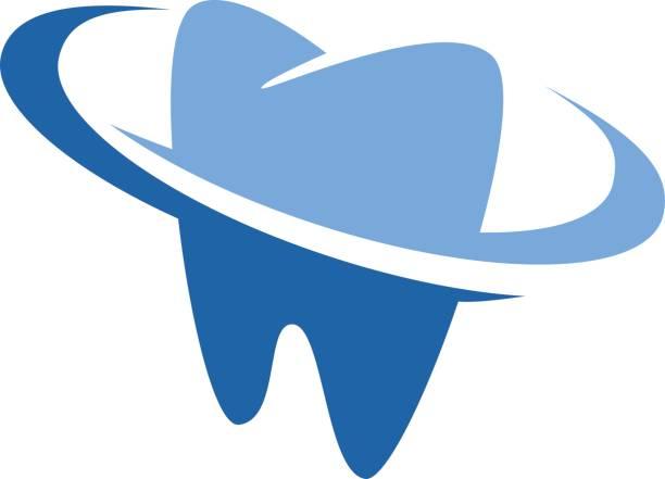 dental zahnarzt symbol - zahnarzt logos stock-grafiken, -clipart, -cartoons und -symbole