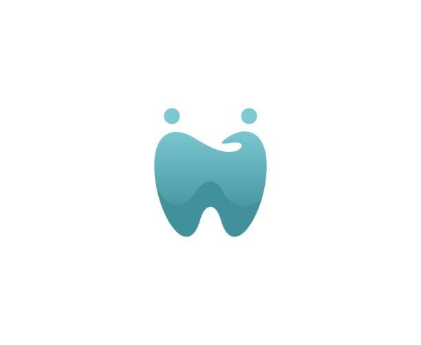 Dental-Familienlogo – Vektorgrafik