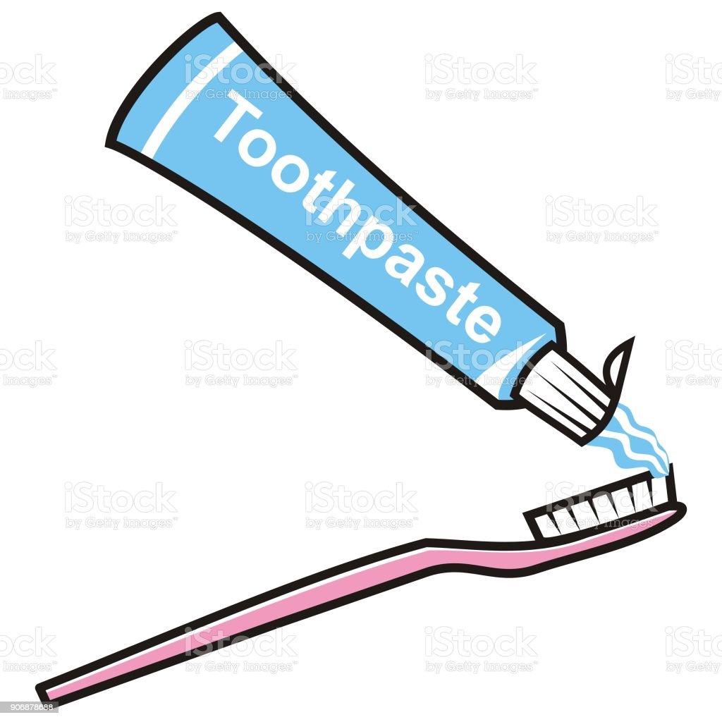 歯科衛生士歯磨き粉歯ブラシベクトル イラスト お手洗いのベクター
