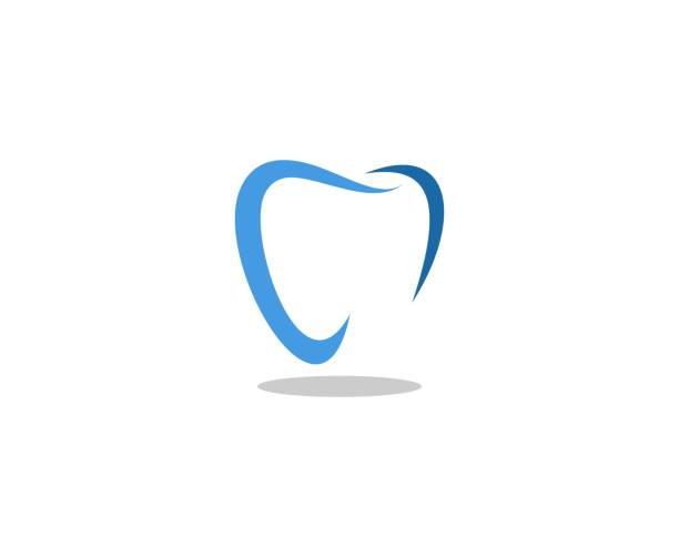 illustrazioni stock, clip art, cartoni animati e icone di tendenza di dental icon - denti