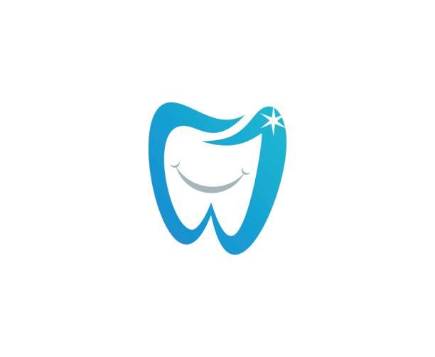 dental icon - dentist logos stock illustrations