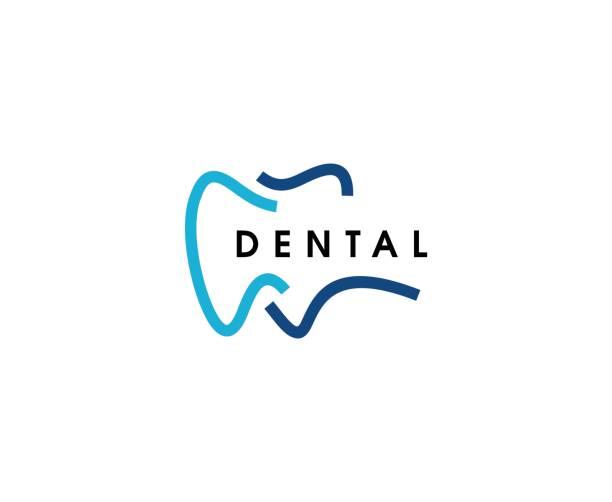 ilustraciones, imágenes clip art, dibujos animados e iconos de stock de icono de dental - logos de dentista