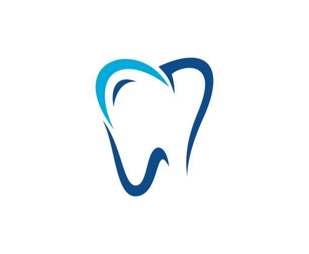 dental-symbol - zahnarzt logos stock-grafiken, -clipart, -cartoons und -symbole