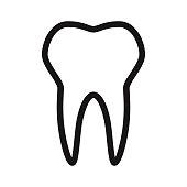 istock Dental Insurance Glyph Icon 1304988992