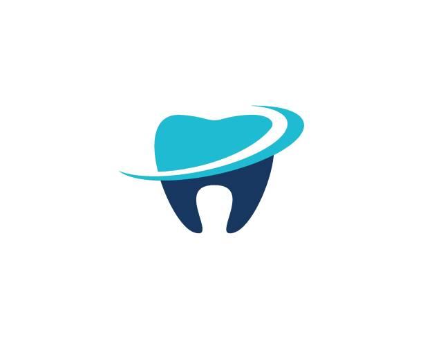 dental logo template - dentist logos stock illustrations