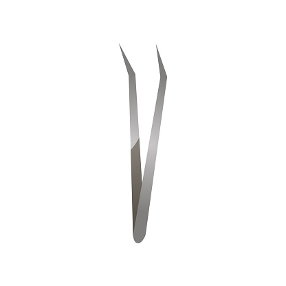 Dental medical tool tweezers, for tooth stomatologic investigation