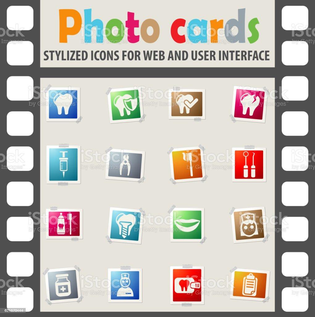 dental office icon set dental office icon set – cliparts vectoriels et plus d'images de brosse à dents libre de droits