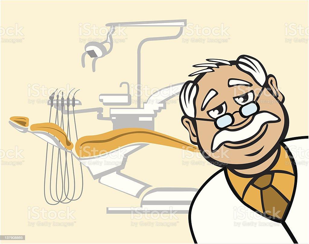 Dental office royalty-free stock vector art