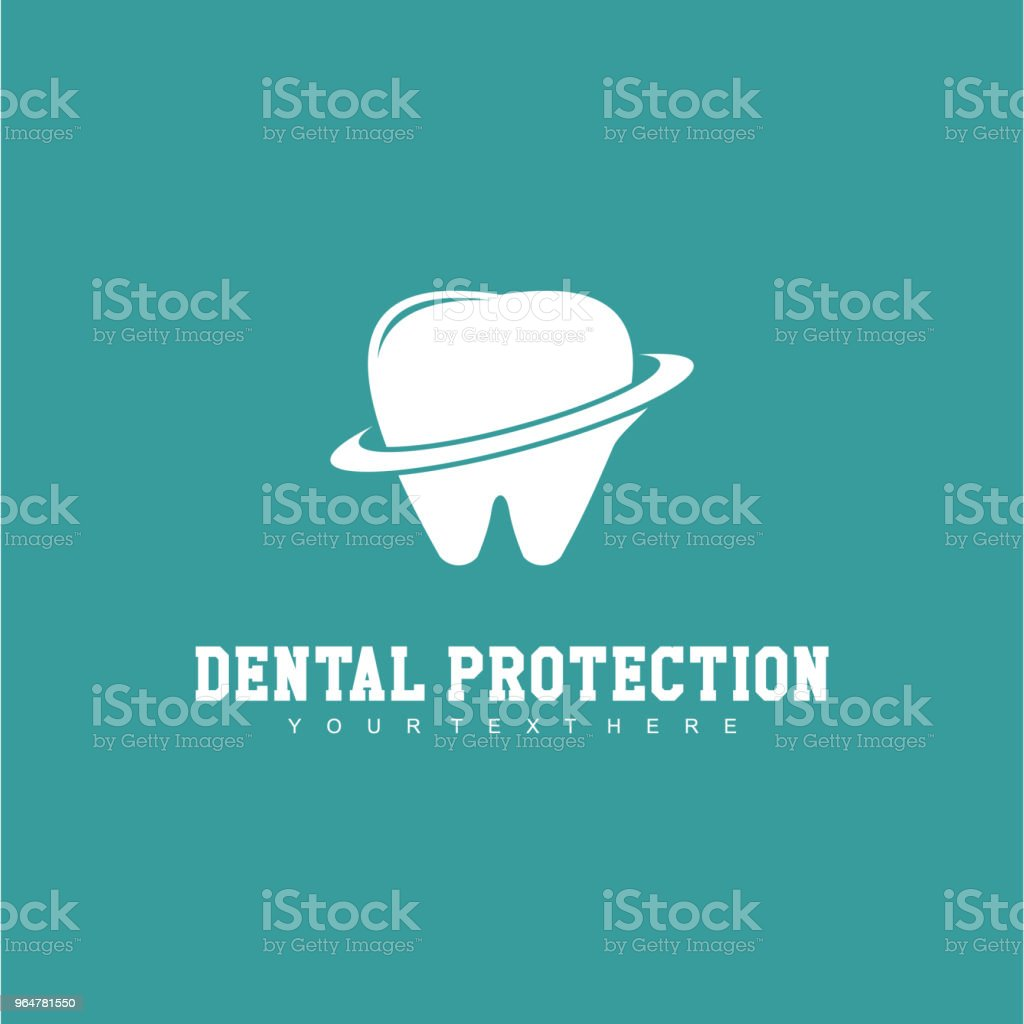 Dental Protection Logo Vector Template Design royalty-free dental protection logo vector template design stock vector art & more images of abstract
