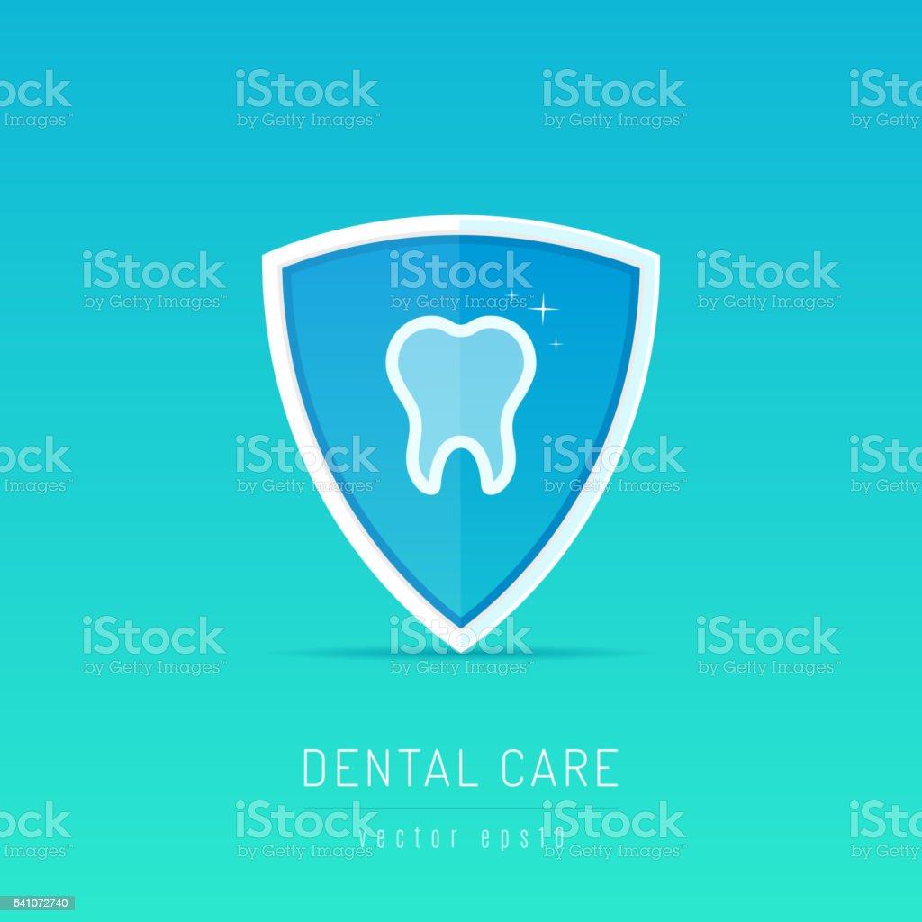 Protector dental - ilustración de arte vectorial