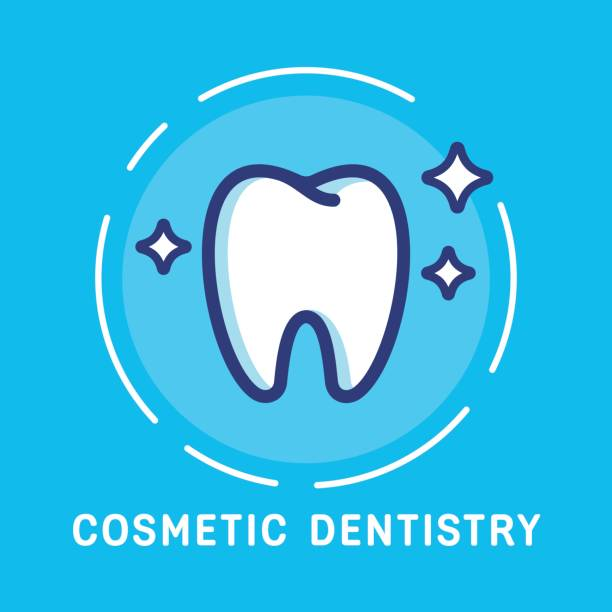 illustrazioni stock, clip art, cartoni animati e icone di tendenza di dental-icons copy - denti