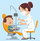 istock Dentist and Child 1175163250