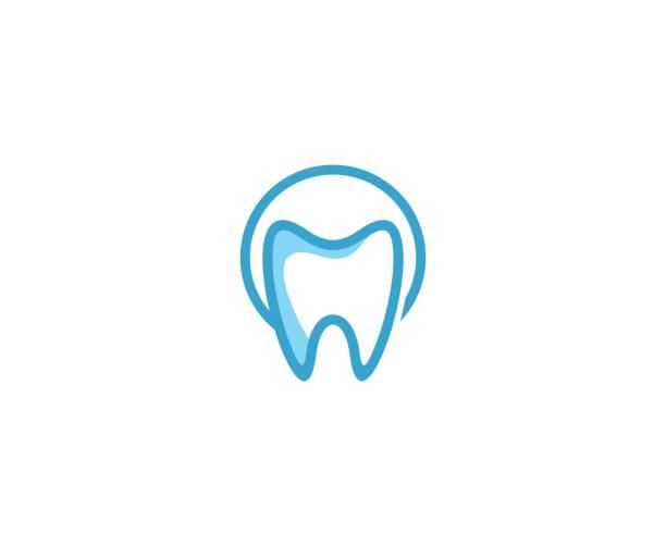 Zahnarzt-Symbol – Vektorgrafik
