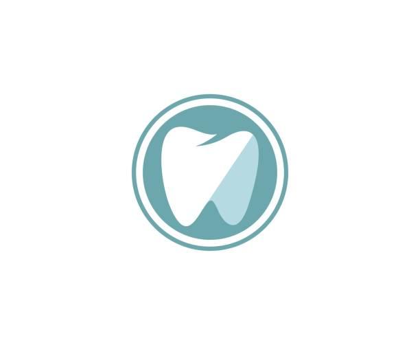 zahnarzt-symbol - zahnarzt logos stock-grafiken, -clipart, -cartoons und -symbole