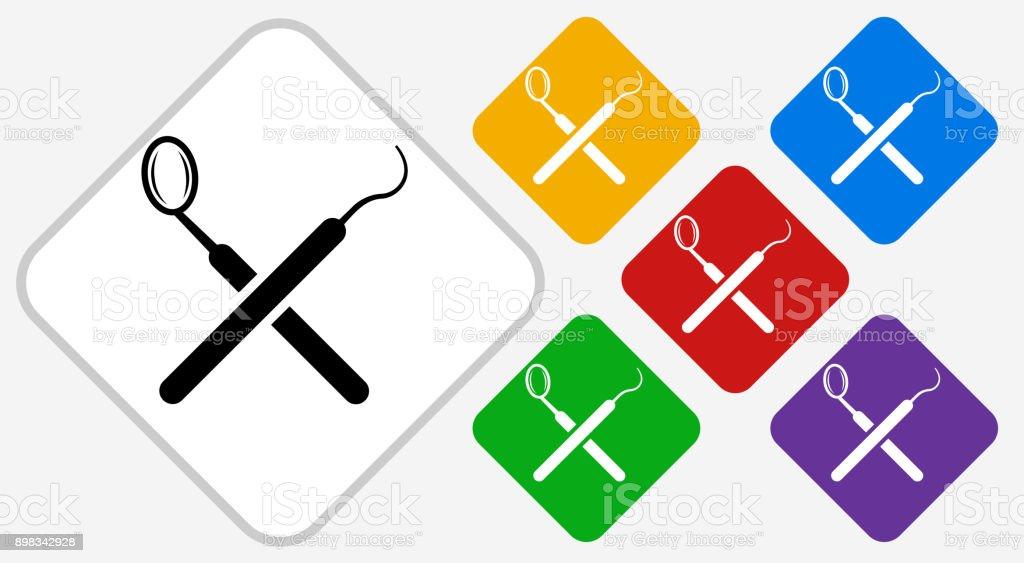 Transparent Dentist Clipart Black And White - Dental Tool Dental Equipment  Logo, HD Png Download , Transparent Png Image - PNGitem