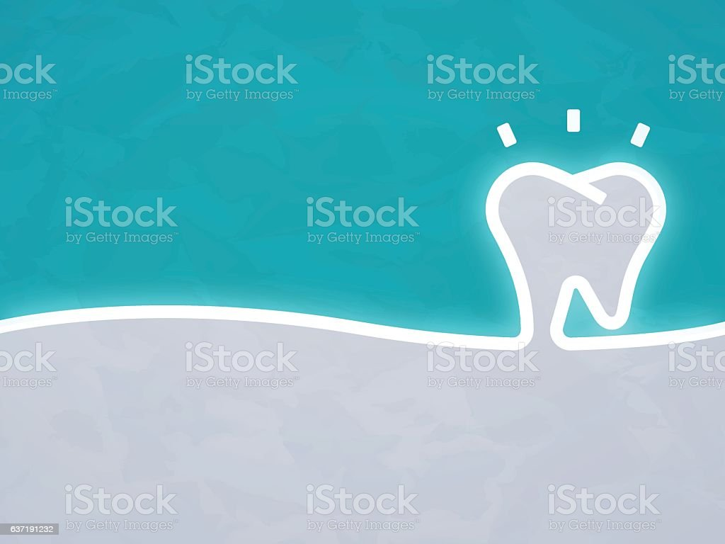 Dentist Tooth Background - ilustración de arte vectorial
