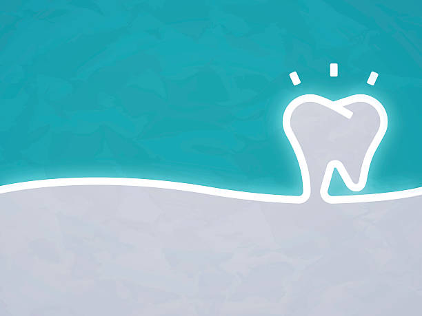 Dentist Tooth Background - Illustration vectorielle