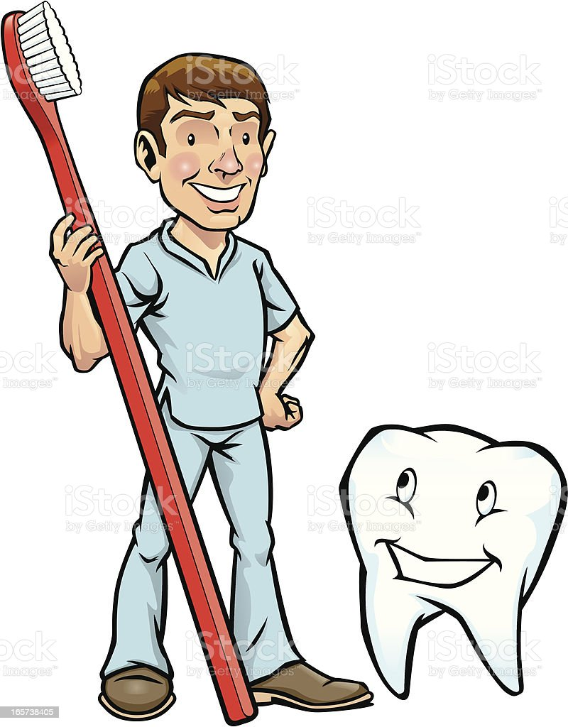 Dentist & Tooth royalty-free dentist tooth stock vector art & more images of body care