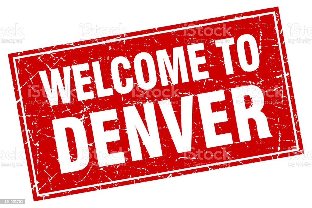 Denver red square grunge welcome to stamp royalty-free denver red square grunge welcome to stamp stock vector art & more images of backgrounds