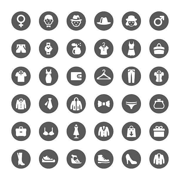 illustrations, cliparts, dessins animés et icônes de grand magasin icônes vectorielles - homme slip
