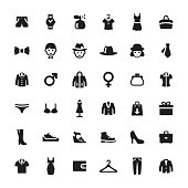 Department Store vector symbols and icons