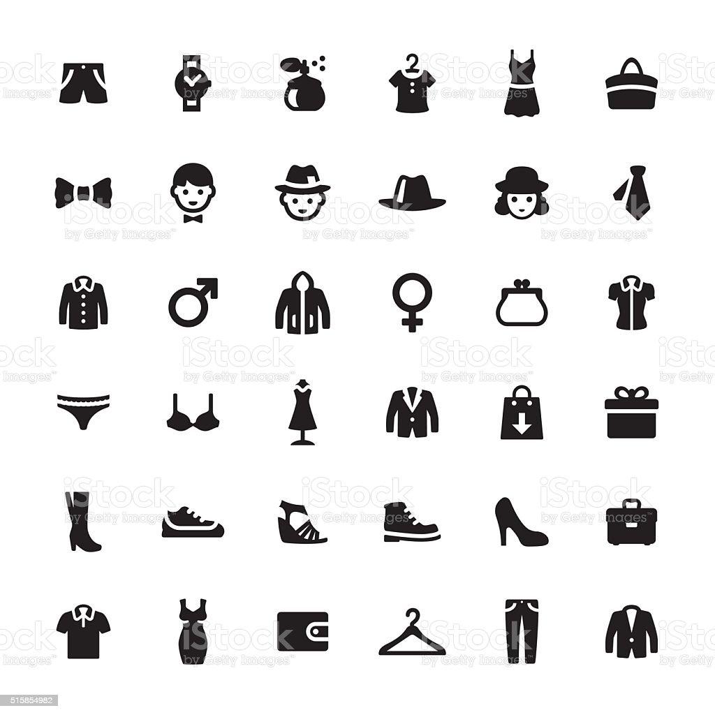 Grand magasin de vecteur Symboles et icônes - Illustration vectorielle