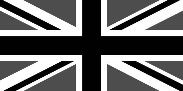 落ち込んでいるユニオン ジャック - ユニオンジャックの国旗点のイラスト素材/クリップアート素材/マンガ素材/アイコン素材