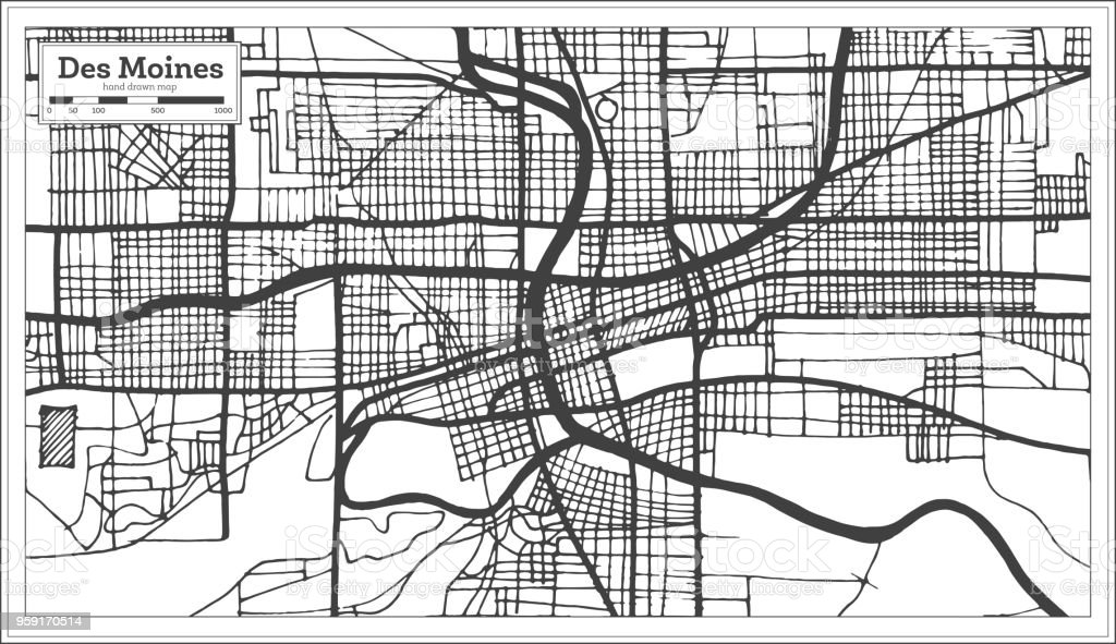 Des Moines Usa City Map In Retro Style Outline Map Stock ... on vancouver city map, wright county city map, okemah city map, dumas city map, duvall city map, bainbridge island city map, fife city map, pierre city map, newton city map, ferguson city map, council bluffs city limits map, grimes city map, lowell city map, clive city map, black hawk city map, st. louis city map, indianapolis city map, tulsa city map, minneapolis st paul city map, el paso city map,