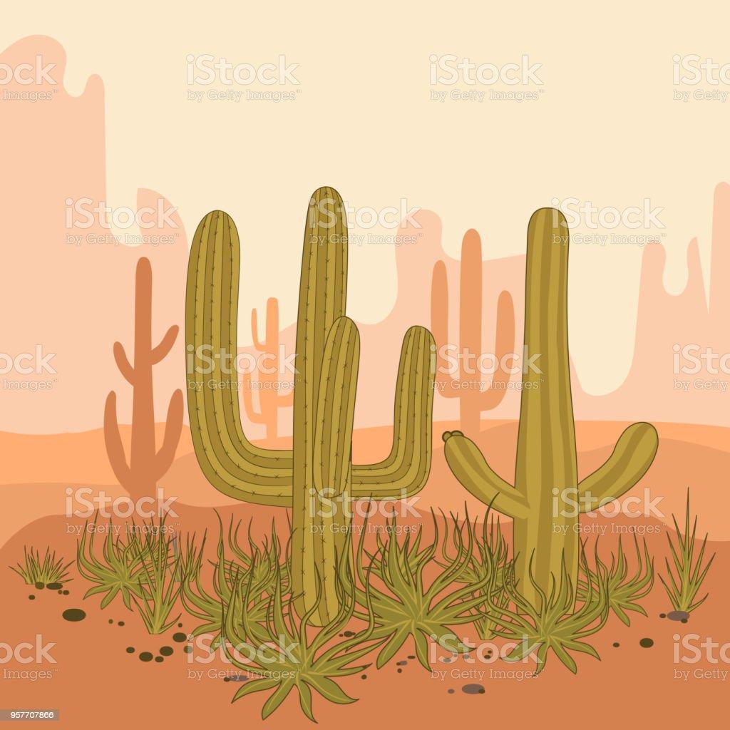 royalty free arizona desert sunrise clip art vector images rh istockphoto com Easter Sunrise Clip Art Morning Sunrise Clip Art