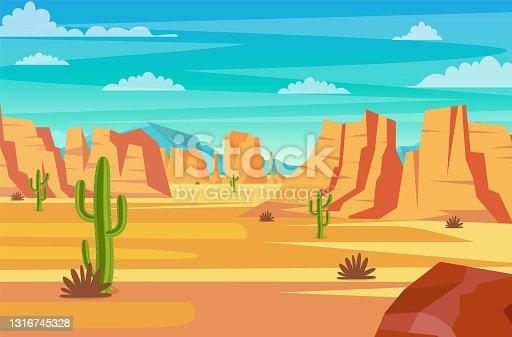 istock desert landscape illustration 1316745328