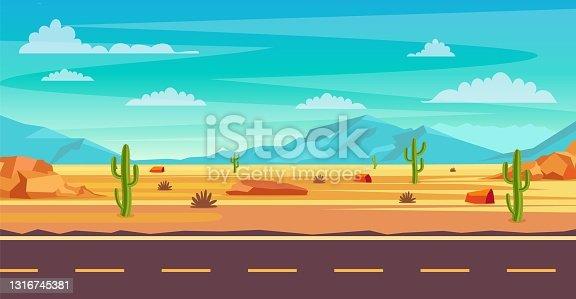 istock desert landscape illustration 1316745381