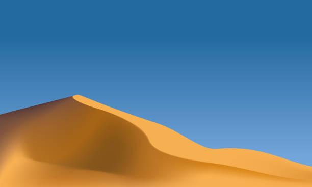 砂漠の景観  - 砂漠点のイラスト素材/クリップアート素材/マンガ素材/アイコン素材
