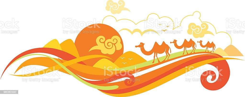 desert landscape royalty-free desert landscape stock vector art & more images of abstract