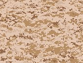 Desert military camouflage texture