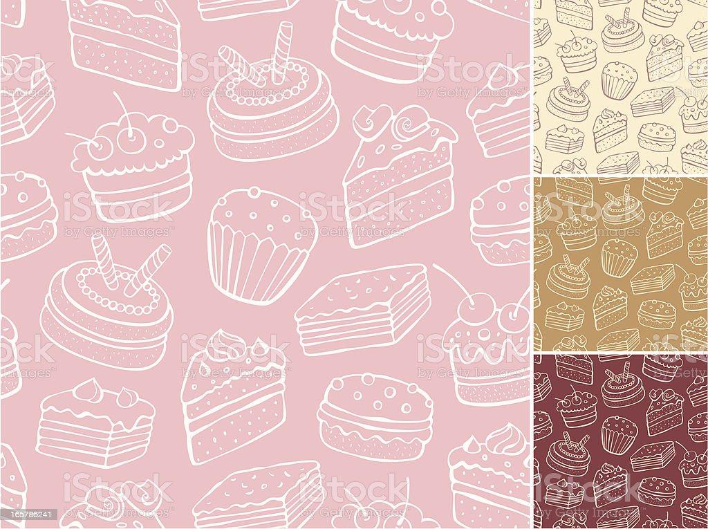 Patrón sin costuras Resumen sweet - ilustración de arte vectorial