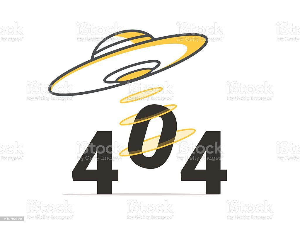 design 404 error vector concept illustration for page not found