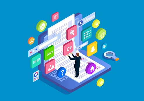 UI design and web testing, programming and coding, data analysis and research
