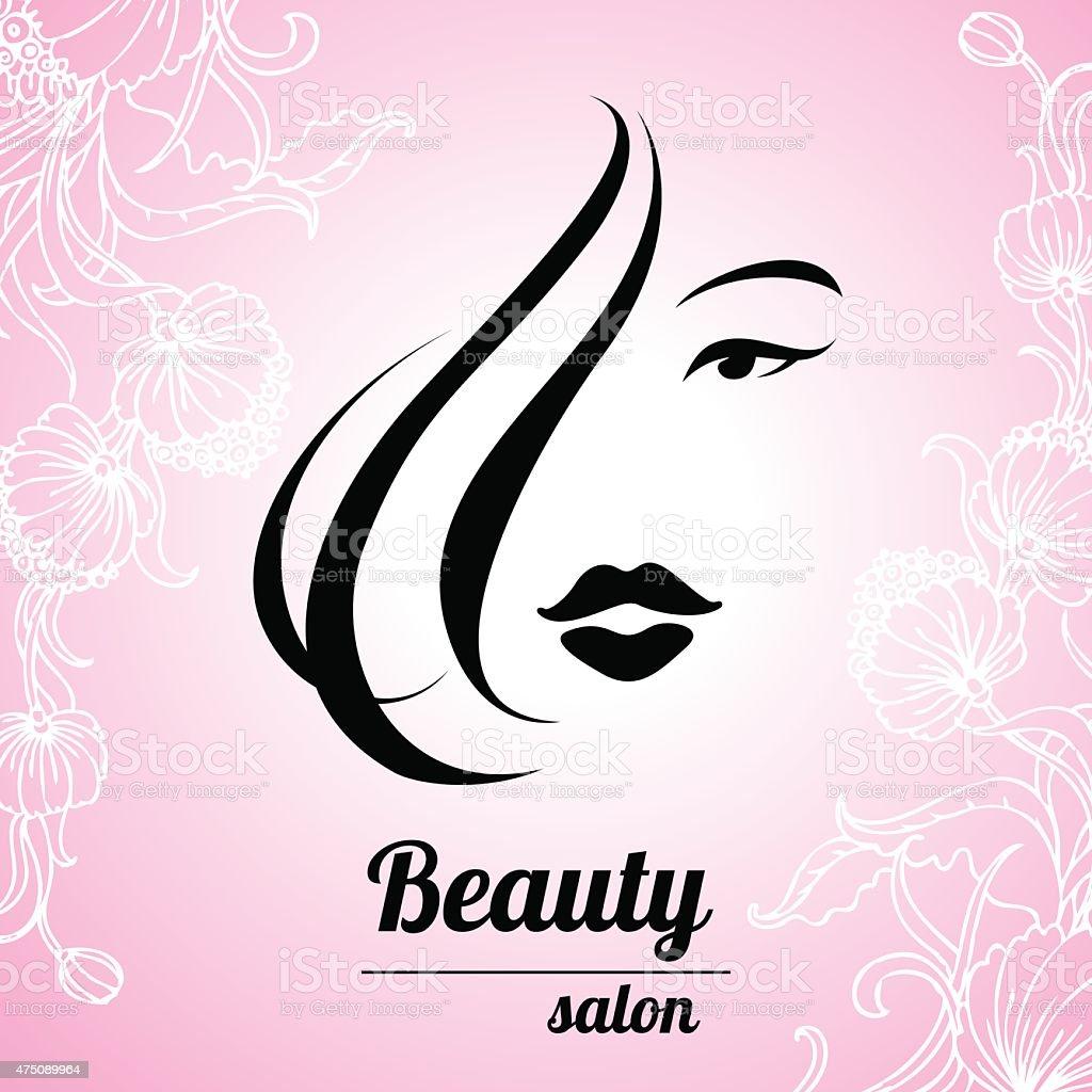 Design Business Card For Hair And Beauty Salon stock vector art ...