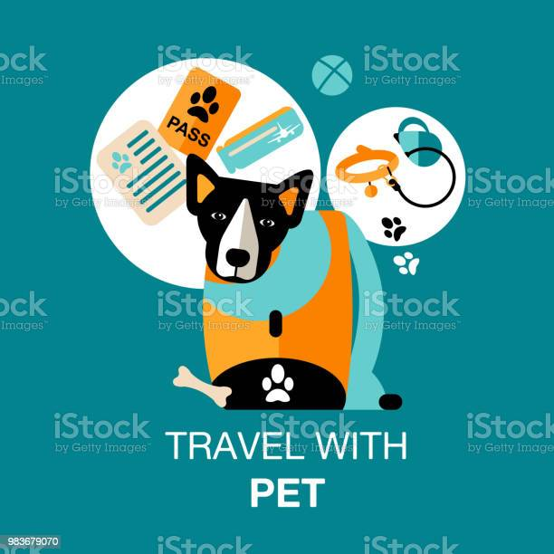 Design card of travel with dog vector id983679070?b=1&k=6&m=983679070&s=612x612&h=hpuz tsi7nh01rj8csqucwivrti3eo1ouubbojxxqv0=