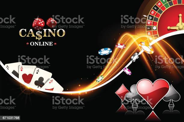 Design casino banner with roulette poker chips playing cards vector vector id671031768?b=1&k=6&m=671031768&s=612x612&h=oa0lyqjfbedda3ggbi hinnziaft vjty0zdvf1wmn4=