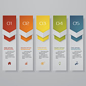 Design clean number banners template/graphic or website layout. Vector. EPS 10.