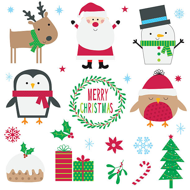Royalty free cute penguins banner merry christmas greetings clip art cute penguins banner merry christmas greetings clip art vector images illustrations m4hsunfo