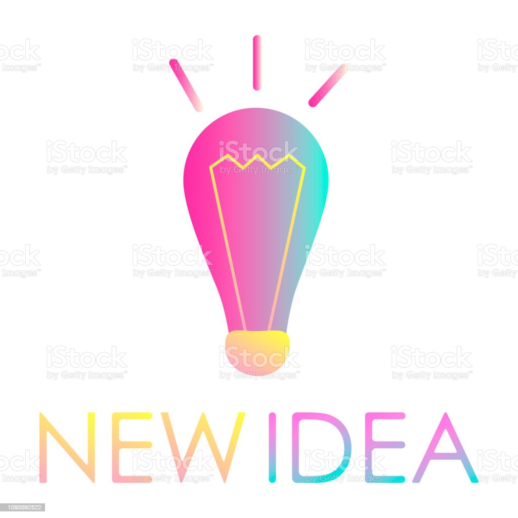 Design Concept Of Idea Creative Idea Logo Design Website Immagini Vettoriali Stock E Altre Immagini Di Astratto Istock