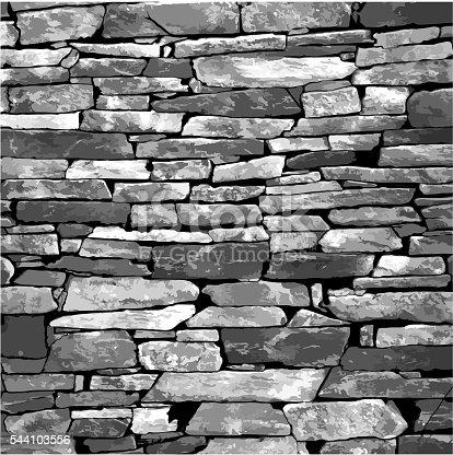 Elemento di design un muro di mattoni vettoriale eps for Disegni di garage di mattoni