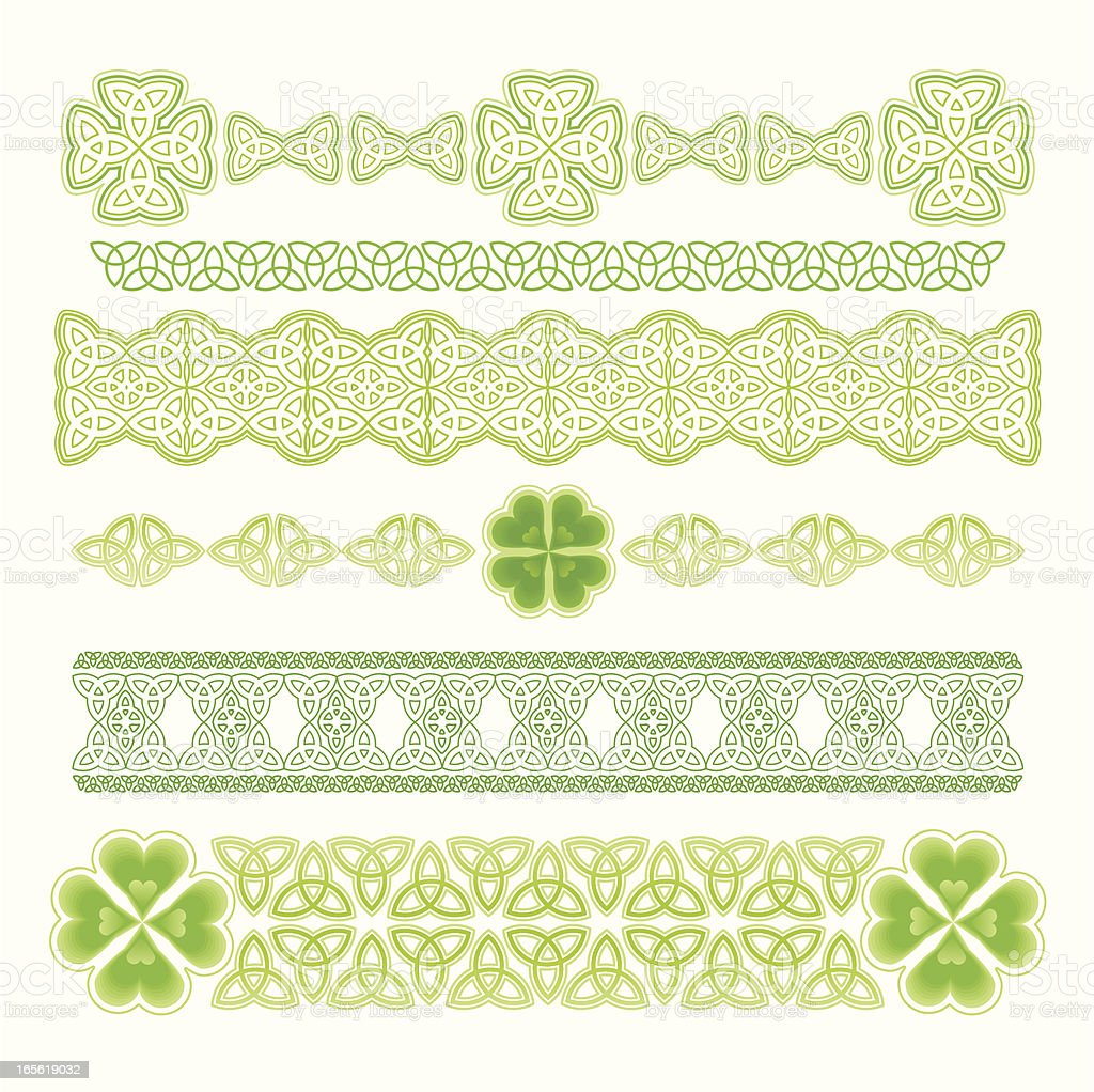 Design Element for St. Patrick's Day royalty-free stock vector art